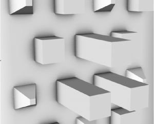 C4D Ambient Occlusion example